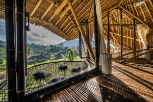 Hammock of the bamboo villa